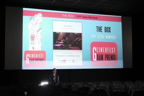 El IES Pérez La Rocha se alza con el primer Premio de Secundaria de Cinedfest