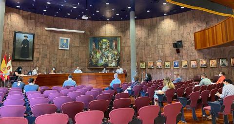 Pleno del Cabildo de La Gomera