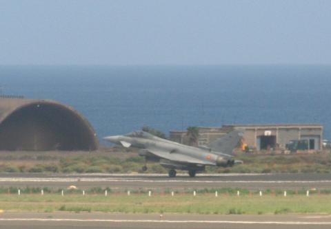 Avión de combate español/ CanariasNoticias.es