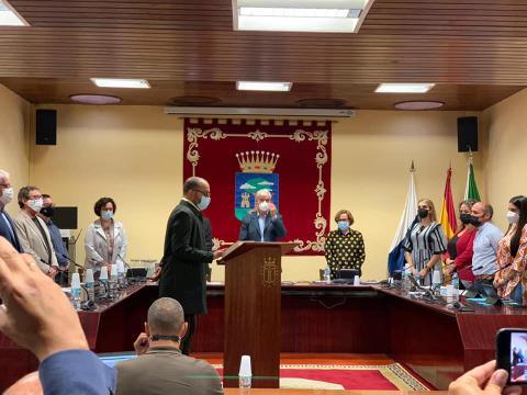 Rubén Acosta, nuevo consejero en el Cabildo de El Hierro
