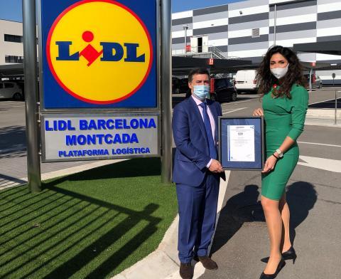 Lidl obtiene el certificado AENOR por sus protocolos de prevención frente al Covid-19