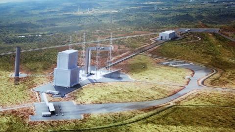 Puerto espacial de Kurú, en la Guayana Francesa. CanariasNoticias.es