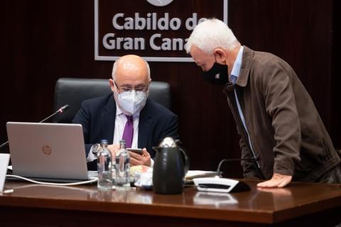 Antonio Morales y Carmelo Ramírez. Cabildo de Gran Canaria / CanariasNoticias.es
