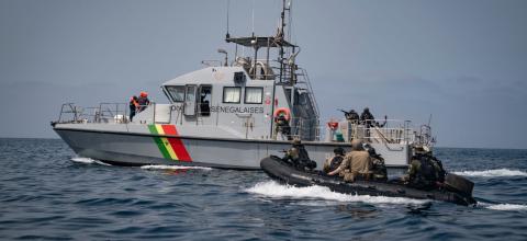 Barco de la Armada de Senegal