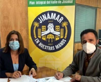 Telde y Aldeas Infantiles renuevan el convenio para desarrollar el proyecto 'Educando el talento' en Jinámar