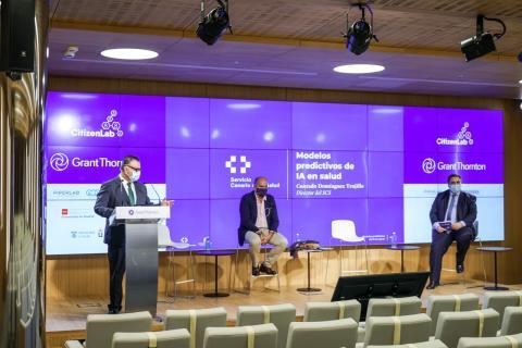 Conrado Domínguez presenta en Madrid los proyectos de Inteligencia Artificial/CanariasNoticias.es