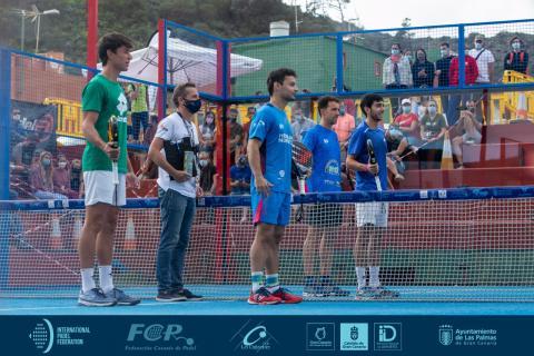 Pádel, Del Castillo-Pérez, Riera-Araujo, Campeones del FIP Star Gran Canaria