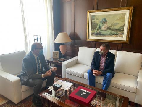 FEHT y el Delegado del Gobierno/ CanariasNoticias.es