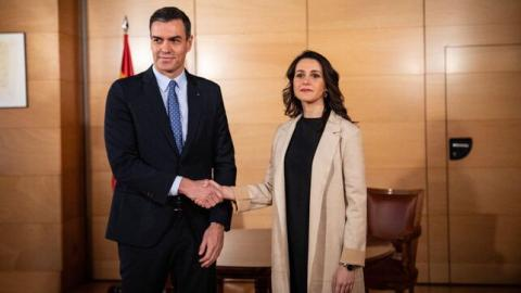 Inés Arrimadas y Pedro Sánchez / CanariasNoticias.es