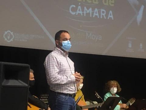 Moya retoma las XIII Jornadas de Música de Cámara