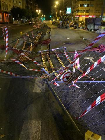 Detiene a un conductor que arrolló 15 metros del vallado/ CanariasNoticias.es