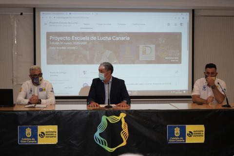 Proyecto Escuela de Lucha Canaria del Cabildo de Gran Canaria
