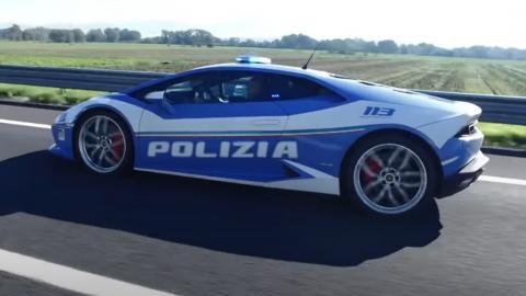 Coche patrulla Lamborghini Huracan / CanariasNoticias.es