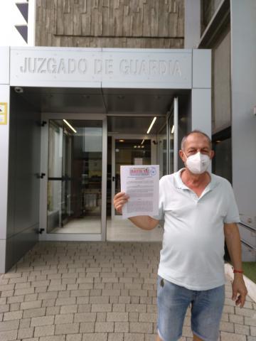 Antonio Vélez. Plataforma Únete por Canarias