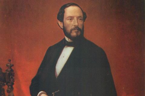 Juan Prim, retrato Luis de Madrazo
