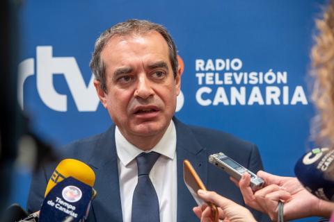 Francisco Moreno. Radio Televisión Canaria