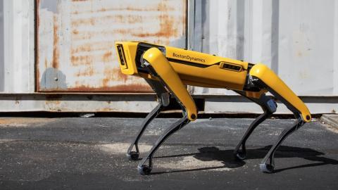 Spot, el perro robot de Boston Dynamics