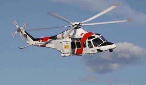 Helicóptero de Salvamento Marítimo