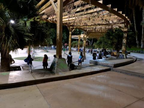 Plaza en Santa Cruz de Tenerife. CanariasNoticias.es