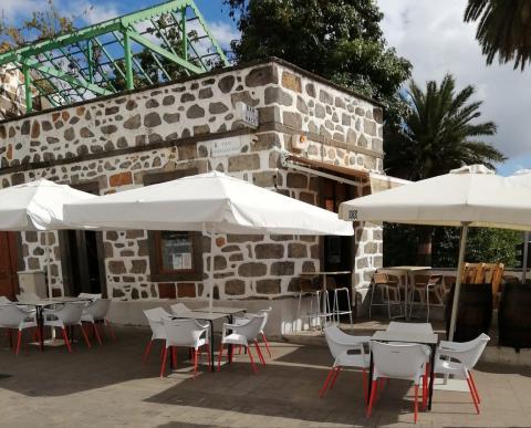 Terraza en Teror. Gran Canaria