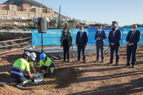 Primera piedra del IES Saulo Torón en Gáldar / CanariasNoticias.es