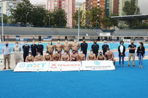Selección española de waterpolo en Santa Cruz de Tenerife / CanariasNoticias.es