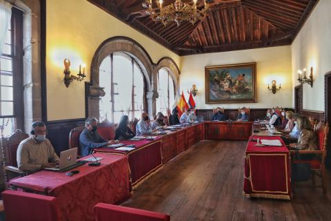 Pleno del Ayuntamiento de Santa Cruz de La Palma / CanariasNoticias.es