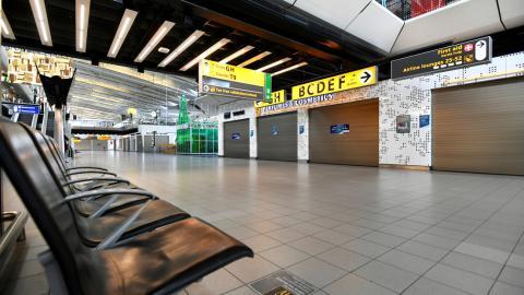 Aeropuerto sin viajeros/ canariasnoticias.es