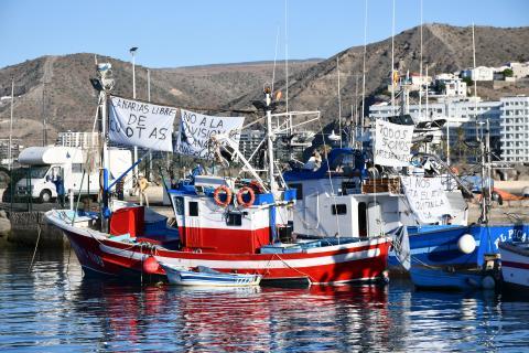 Barcos pesqueros en el muelle de Arguineguín / CanariasNoticias.es
