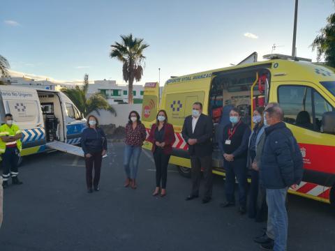 Blas Trujillo visita el Hospital Dr. Molina Orosa de Lanzarote / CanariasNoticias.es