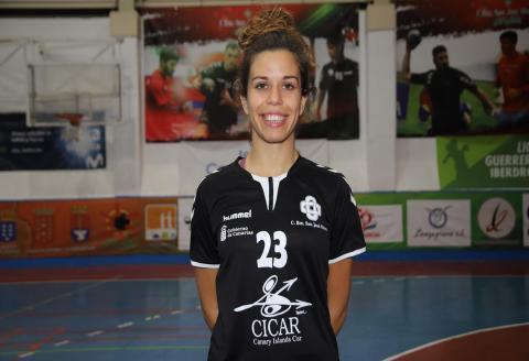 Celia López, jugadora del CICAR Lanzarote Ciudad de Arrecife / CanariasNoticias.es