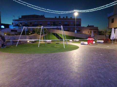 Cierre de parques infantiles. Guía de Isora. Tenerife/ canariasnoticias.es