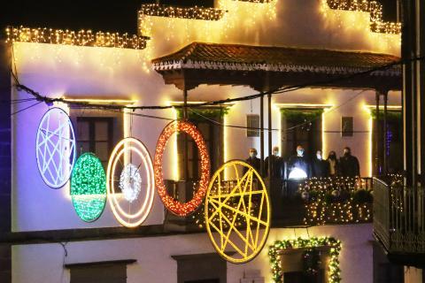 Encendido de las luces de Navidad en Moya / CanariasNoticias.es