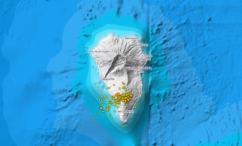 Enjambre sísmico de La Palma / CanariasNoticias.es