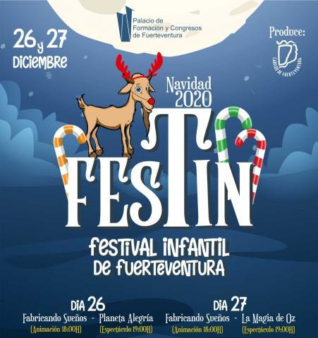 Cartel de Festin 2020 en Palacio de Formación y Congresos de Fuerteventura / CanariasNoticias.es
