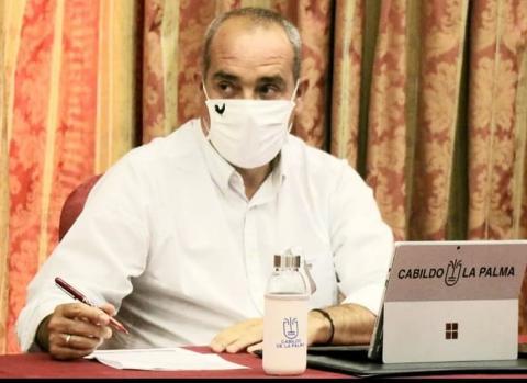 Gonzalo Pascual, consejero de Innovación Cabildo de La Palma / CanariasNoticias.es