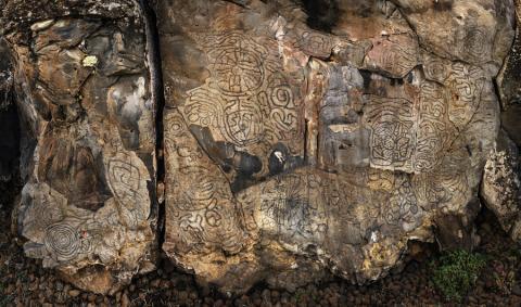 Grabados rupestres de la Fajana San Telmo / CanariasNoticias.es