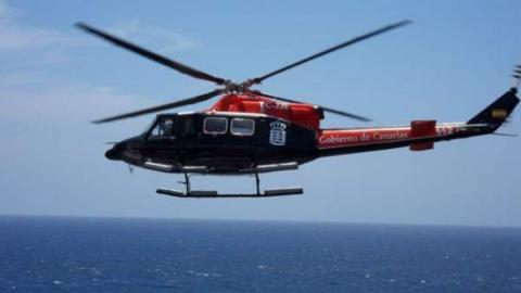 Helicóptero de rescate/ canariasnoticias.es