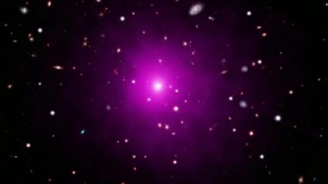 Imagen compuesta del cúmulo de galaxias Abell 2261/ NASA