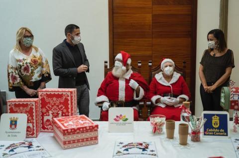 Telde recibe a Mamá y Papá Noel / CanariasNoticias.es