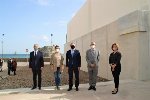 Inauguración plaza Clara Muñoz en Las Palmas de Gran Canaria / CanariasNoticias.es