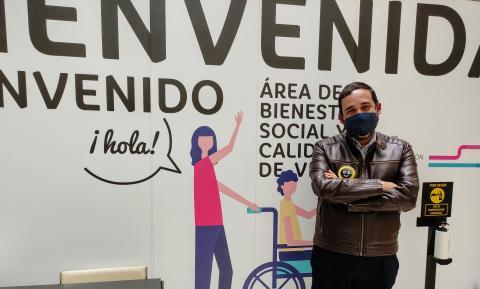 Rubens Ascanio, concejal del Ayuntamiento de La Laguna / CanariasNoticias.es