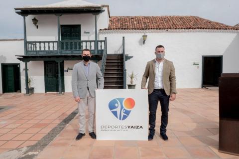 Nueva imagen corporativa del Área de Deportes de Yaiza / CanariasNoticias.es