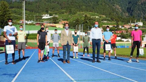 Selección suiza de atletismo en La Palma / CanariasNoticias.es