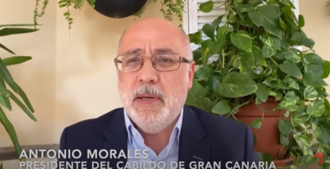 Antonio Morales. Presidente del Cabildo de Gran Canaria/ canariasnoticias