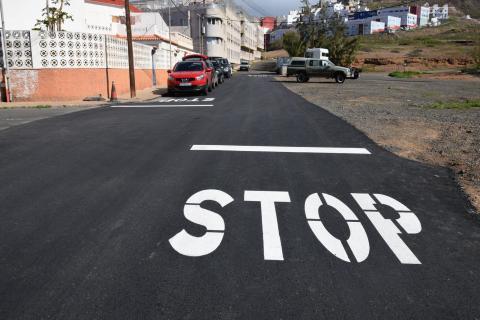 Asfaltado en el barrio de Sardina (Gáldar) / CanariasNoticias.es