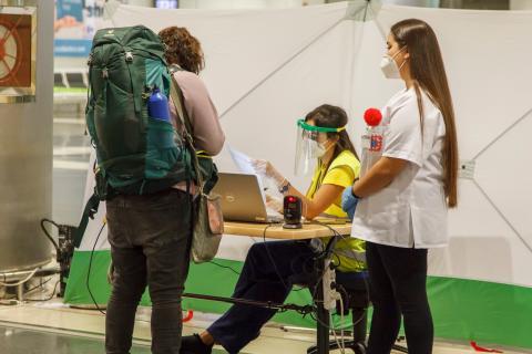 Control de Covid-19 en aeropuertos canarios / CanariasNoticias.es