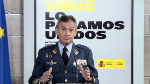 Jefe del Estado Mayor de la Defensa. Miguel Ángel Villarroya/ canariasnoticias