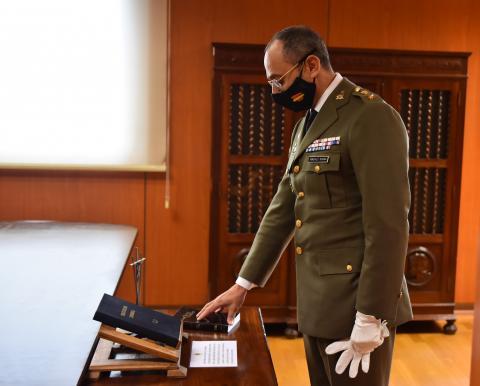 Toma de posesión del teniente coronel Gabriel González Segura / CanariasNoticias.es