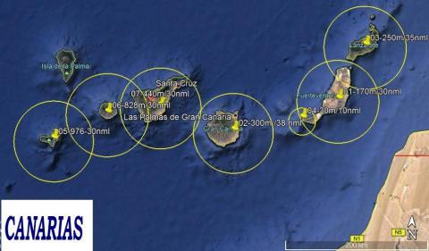 Sistema de radar de Triskav/ canariasnoticias.es
